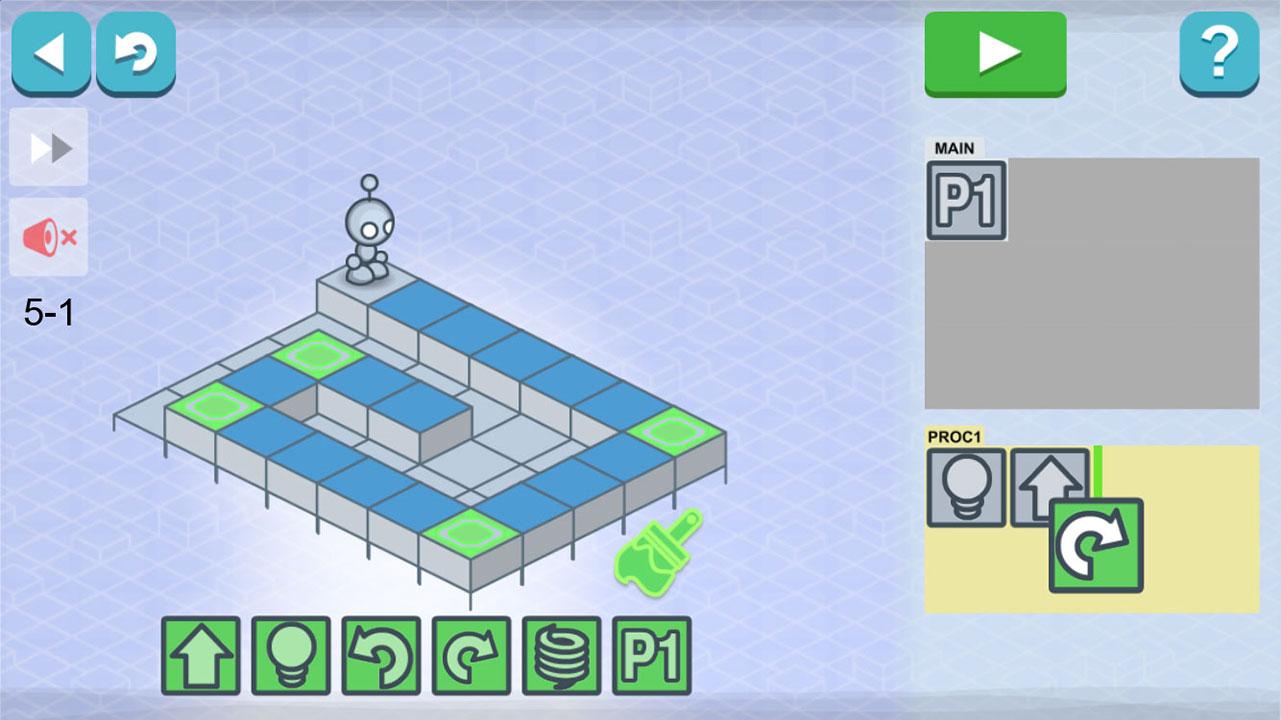 ارتباط بازی Lightbot با برنامه نویسی