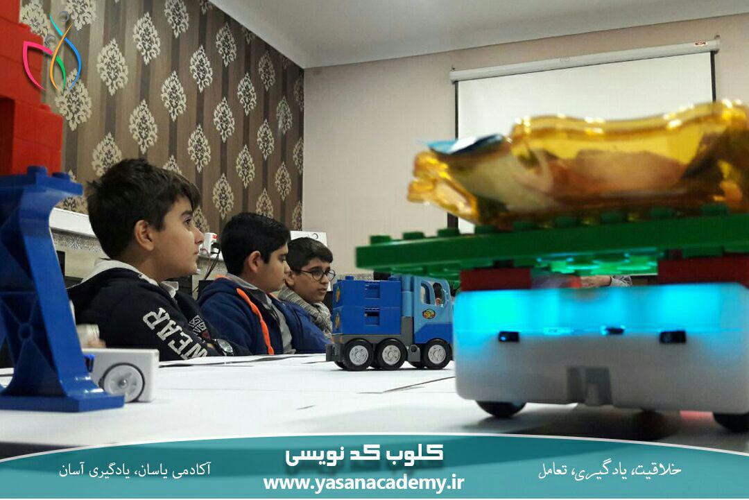 ربات آموزشی تیمیو