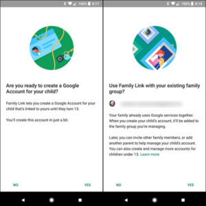آموزش نرم افزار Google Family Link