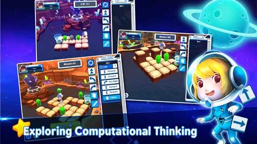 دانلود بازی Coding Galaxy